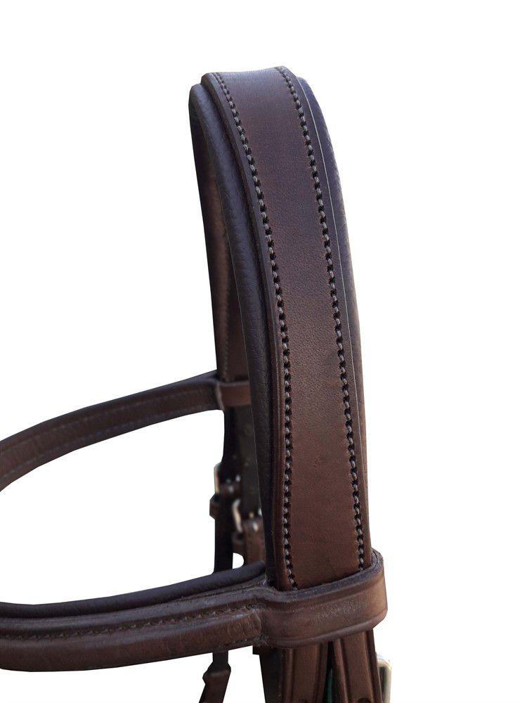 Cabeçada Hipíca Luxo Black Horse