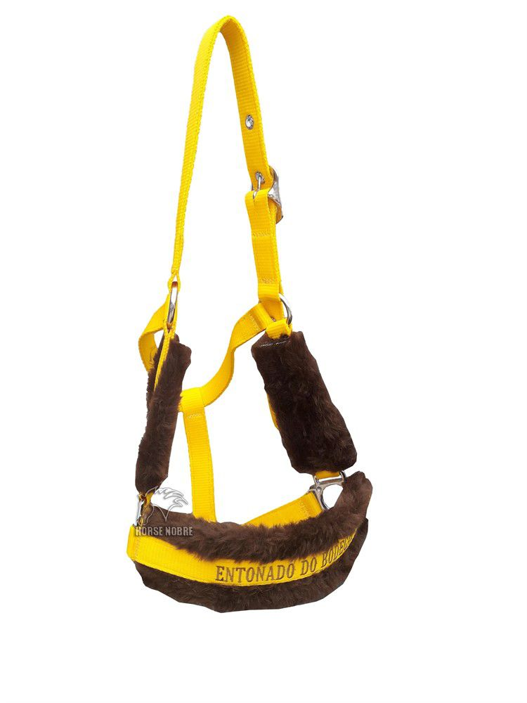 Cabresto Personalizado Luxo (Amarelo )