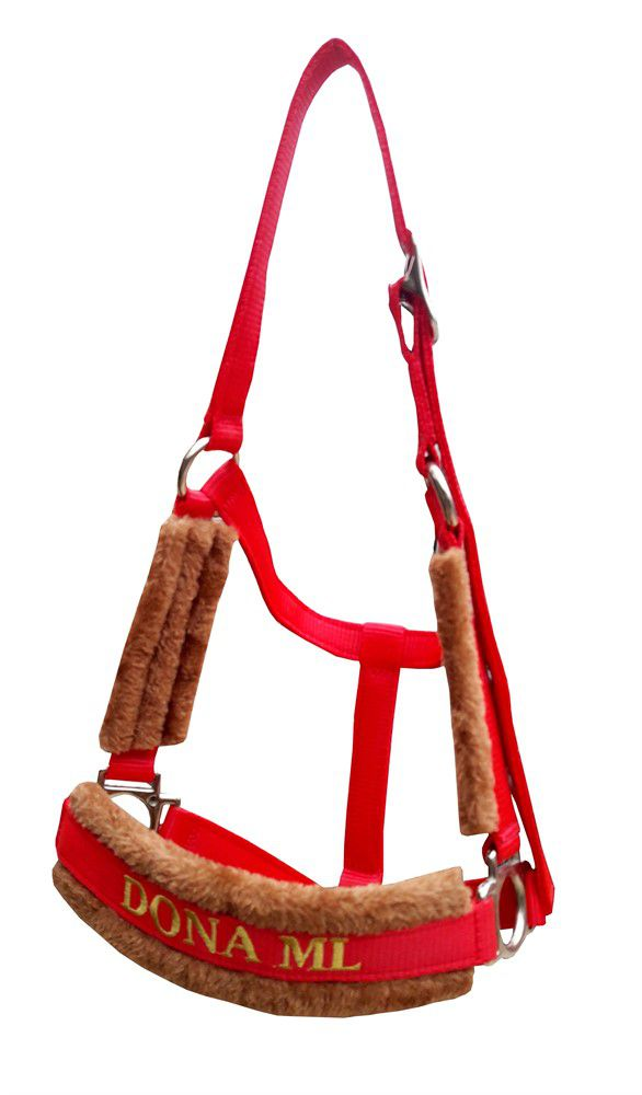 Cabresto Personalizado Luxo (Vermelho )
