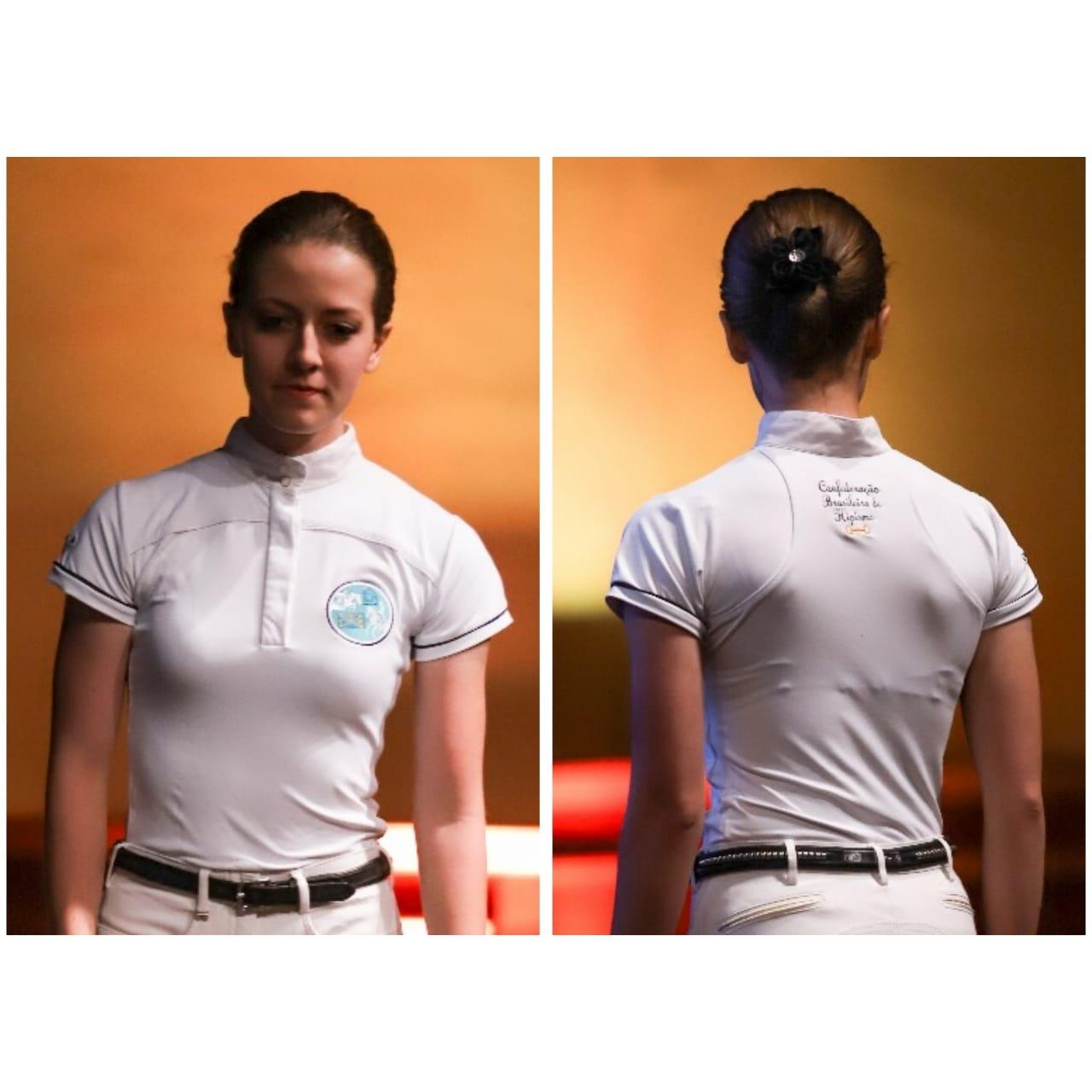 Camisa de Prova Feminina coleção Dressur CBH