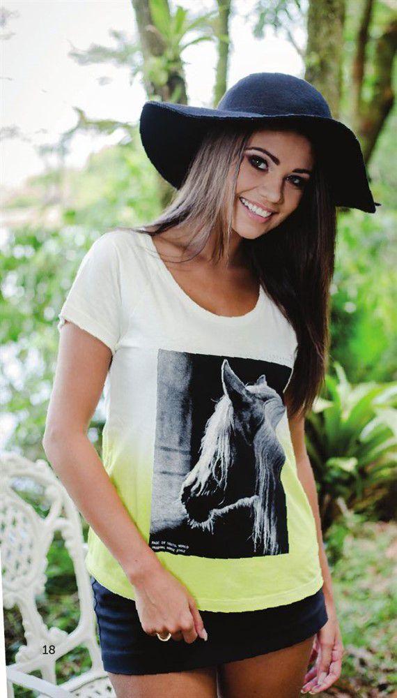 Camiseta Feminina - Horse