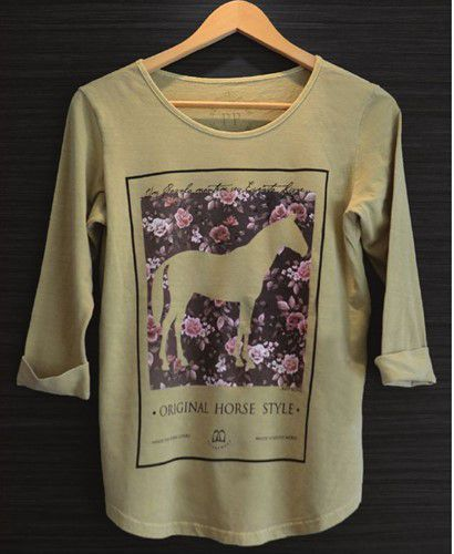 Camiseta Feminina - Keep Riding