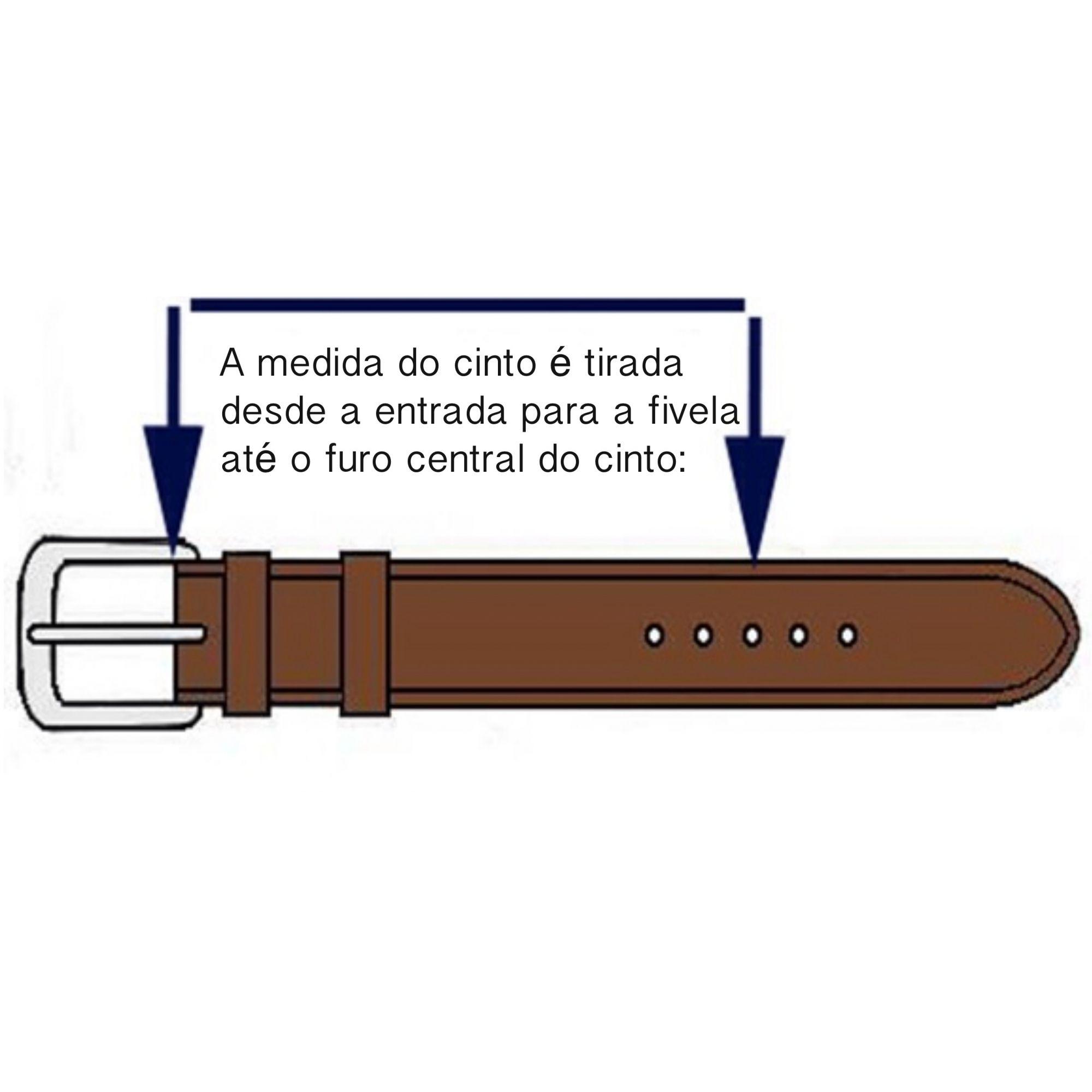 Cinto de Hipismo Detalhe em Bridão  ( Unissex )