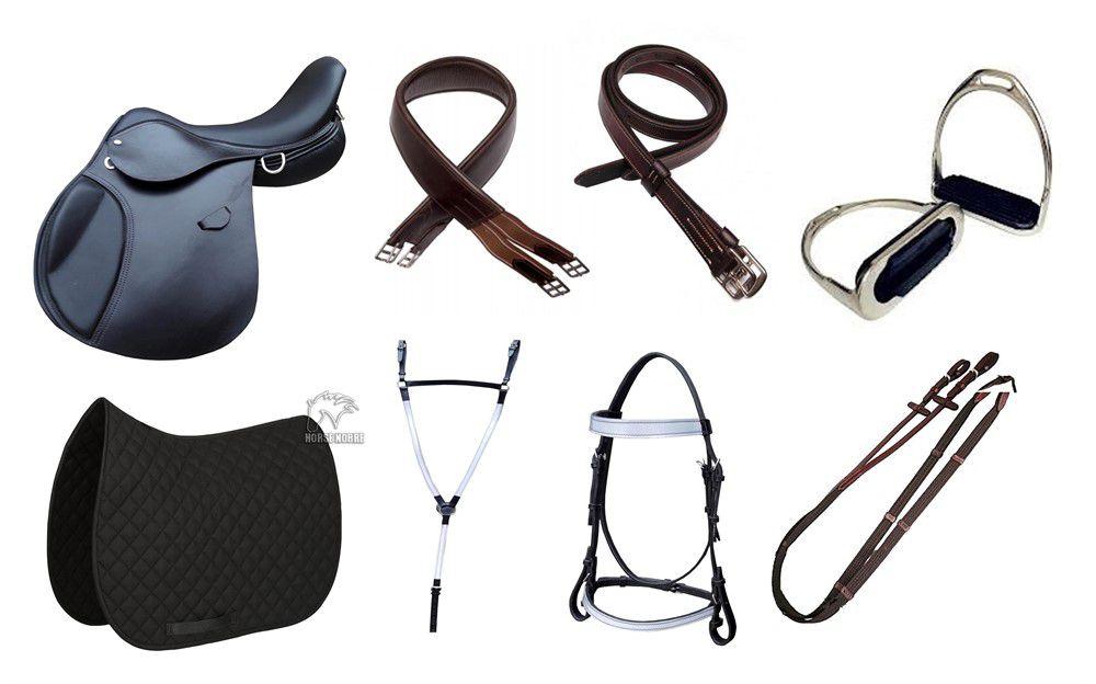 Sela Hípica  Militar para Cavalaria - Kit Completo