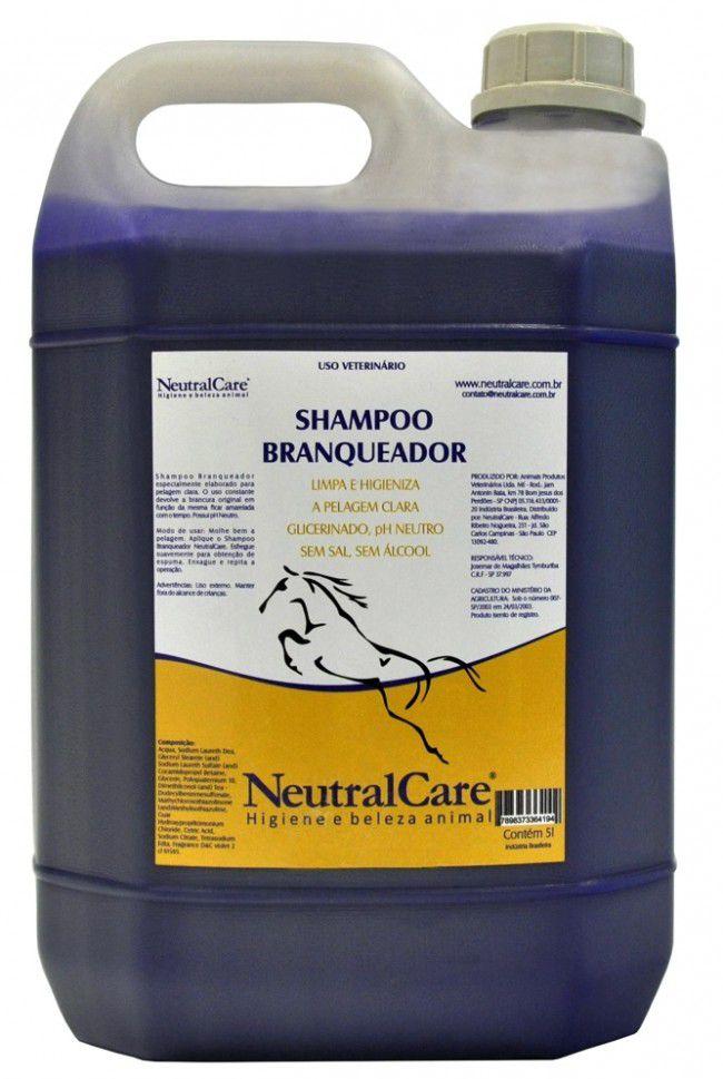 Shampoo Branqueador 5 Litros