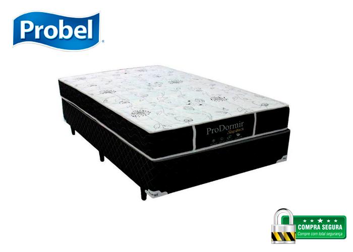 cb03328b5 CAMA BOX + COLCHÃO PROBEL PRODORMIR SLEEP MOLAS ENSACADAS CASAL 138X188