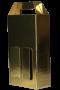 Caixa dourada lisa