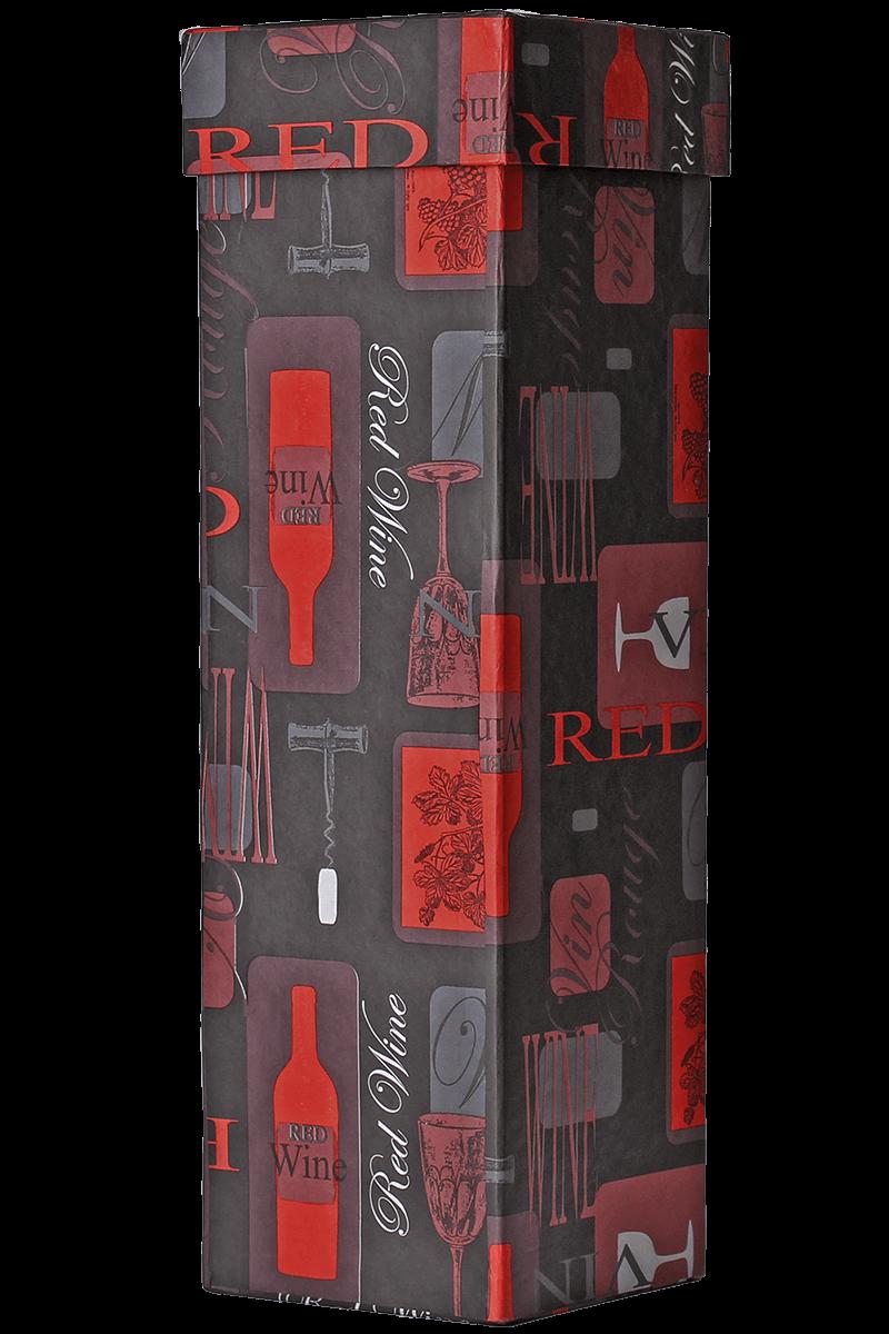 Caixa decorada red wine