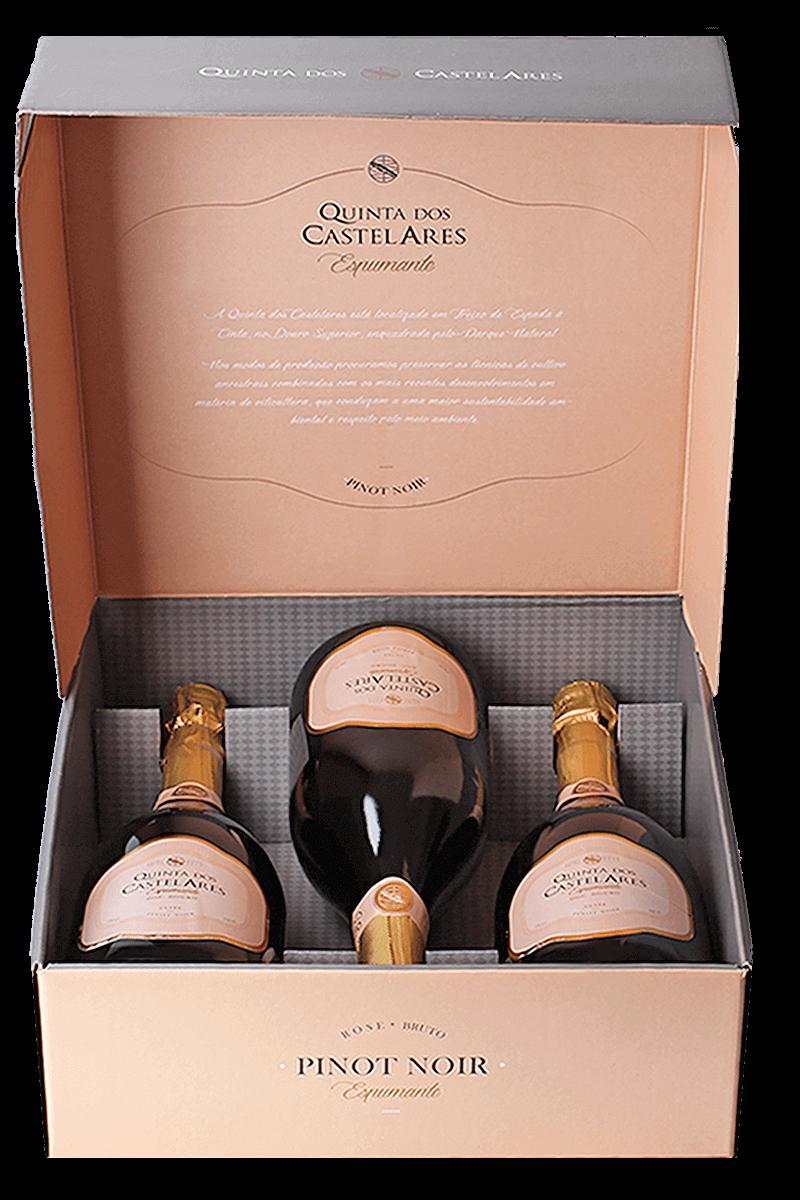 Kit Quinta dos Castelares Espumante Pinot Noir DOC 2016