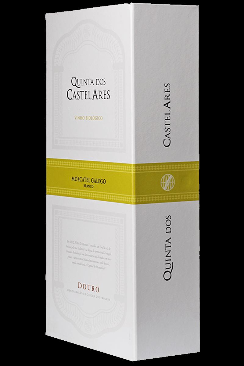 Kit Quinta dos Castelares Moscatel Galego Douro DOC 2016 Biológico