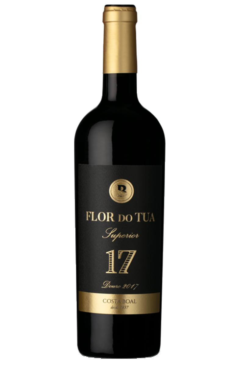 Kit Vinho Tinto Flor do Tua 17 Superior
