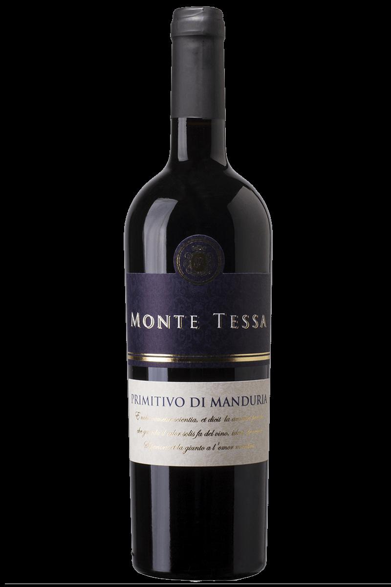Monte Tessa Primitivo Di Manduria 2016 DOC