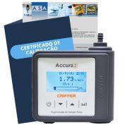 Accura 2 Bomba de amostragem digital + certificado de calibração com rastreabilidade RBC