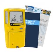 GasAlertMax XT II Detector de 4 gases + Certificado de Calibração com Rastreabilidade em Cortesia