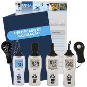 Kit ST01 com Certificado de Calibração com Rastreabilidade RBC INMETRO