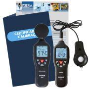 Kit ST02 com Certificado de Calibração com Rastreabilidade RBC INMETRO