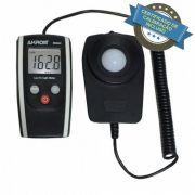 KR802 Luxímetro digital com certificado de calibração incluso