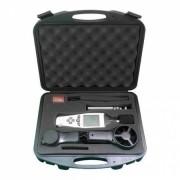 KR500 Medidor ambiente multiparâmetros 5 em 1 ( termo- higro- anem - lux - dec ) | Com certificado de Calibração