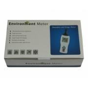 KR831 Medidor de temperatura e umidade com indicação de ponto de orvalho