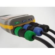 Medidor multiparâmetro à prova d'água (PH/Cond/OD/Temp) - AK88