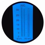 REF32 Refratômetro analógico (0 a 32% Brix)