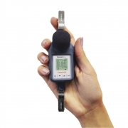 Sonus-2 Plus Dosímetro de ruido com filtro de 1/1 e 1/3 de oitavas + Certificado de calibração com rastreabilidade RBC