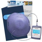 Medidor de vibrações ocupacionais VCI e VMB - Vibrate + Certificado de Calibração com Rastreabilidade RBC