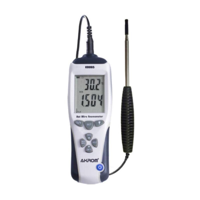 Anemômetro de fio quente KR865