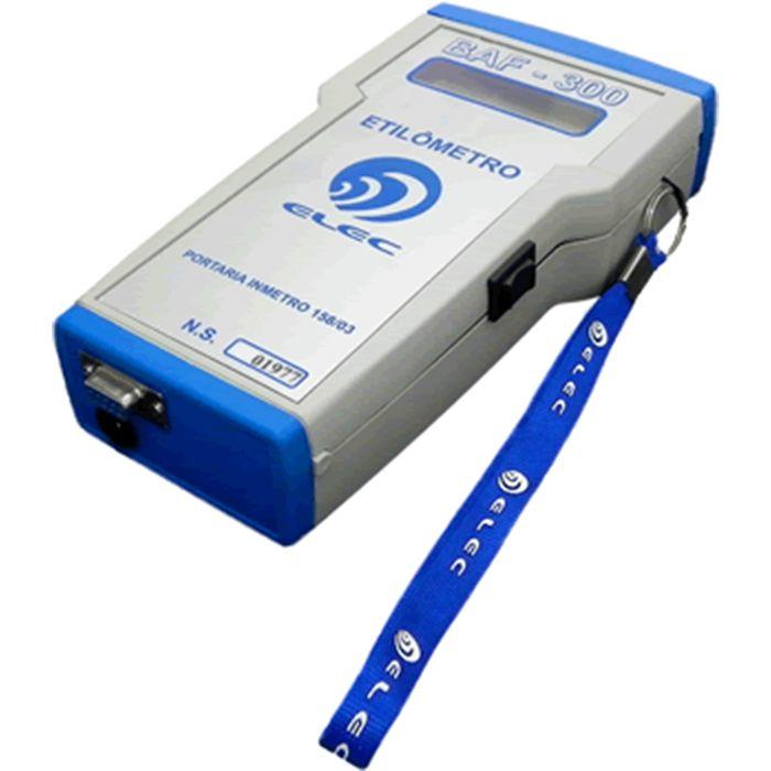Bafômetro digital portátil com impressora INMETRO - BAF-300B (I)