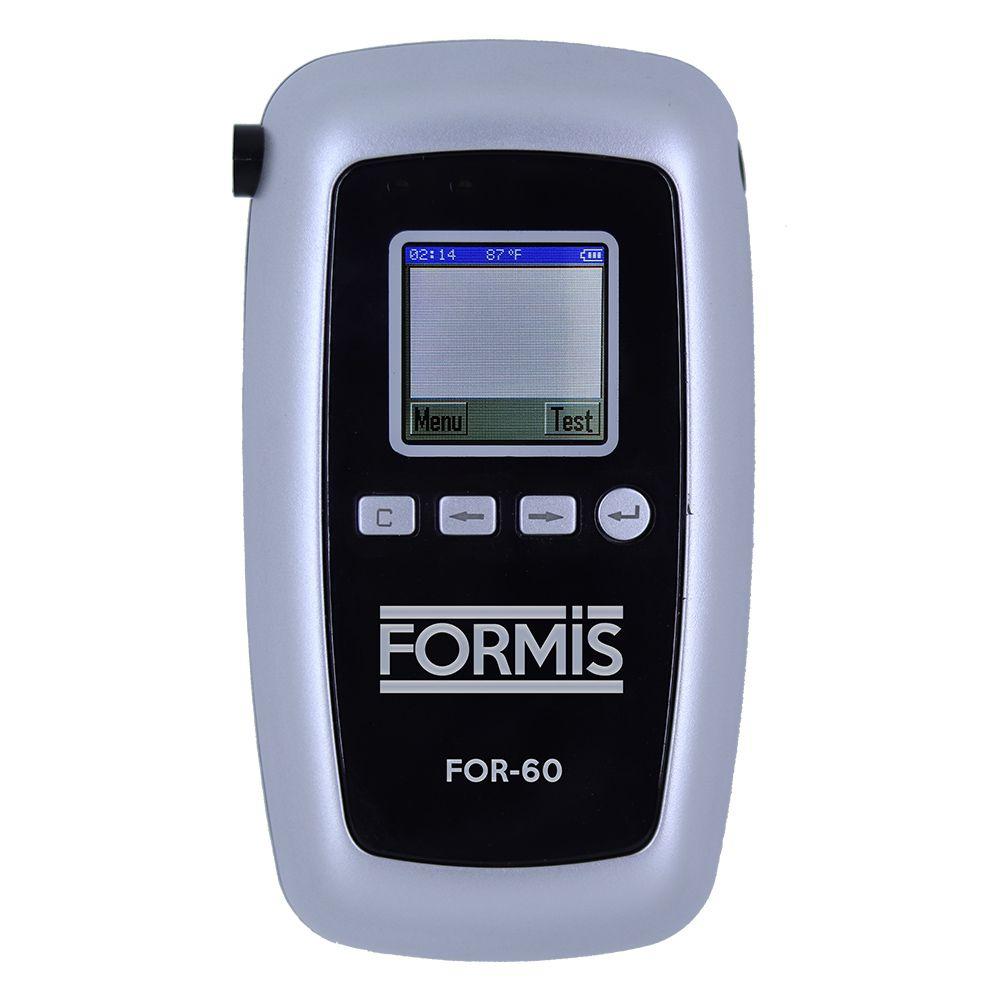 Bafômetro digital portátil com saída USB FOR-60