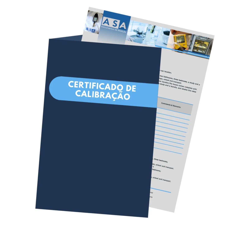 Calibração com rastreabilidade RBC/INMETRO - Turbidímetro Digital