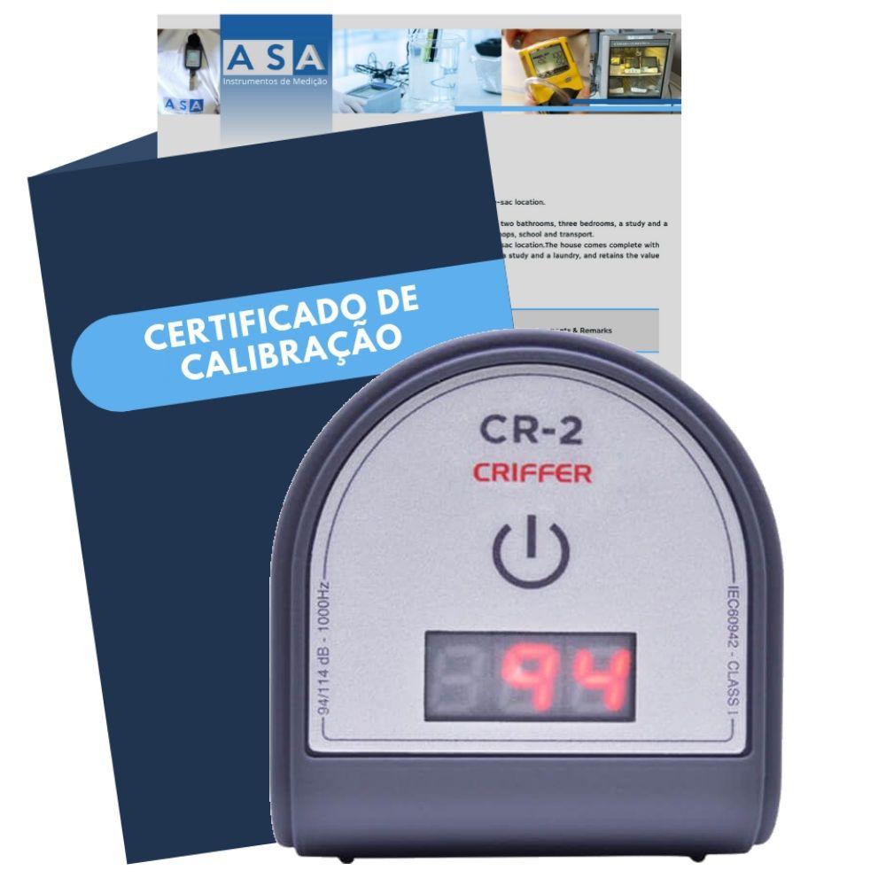 CR-2 Calibrador de ruído digital