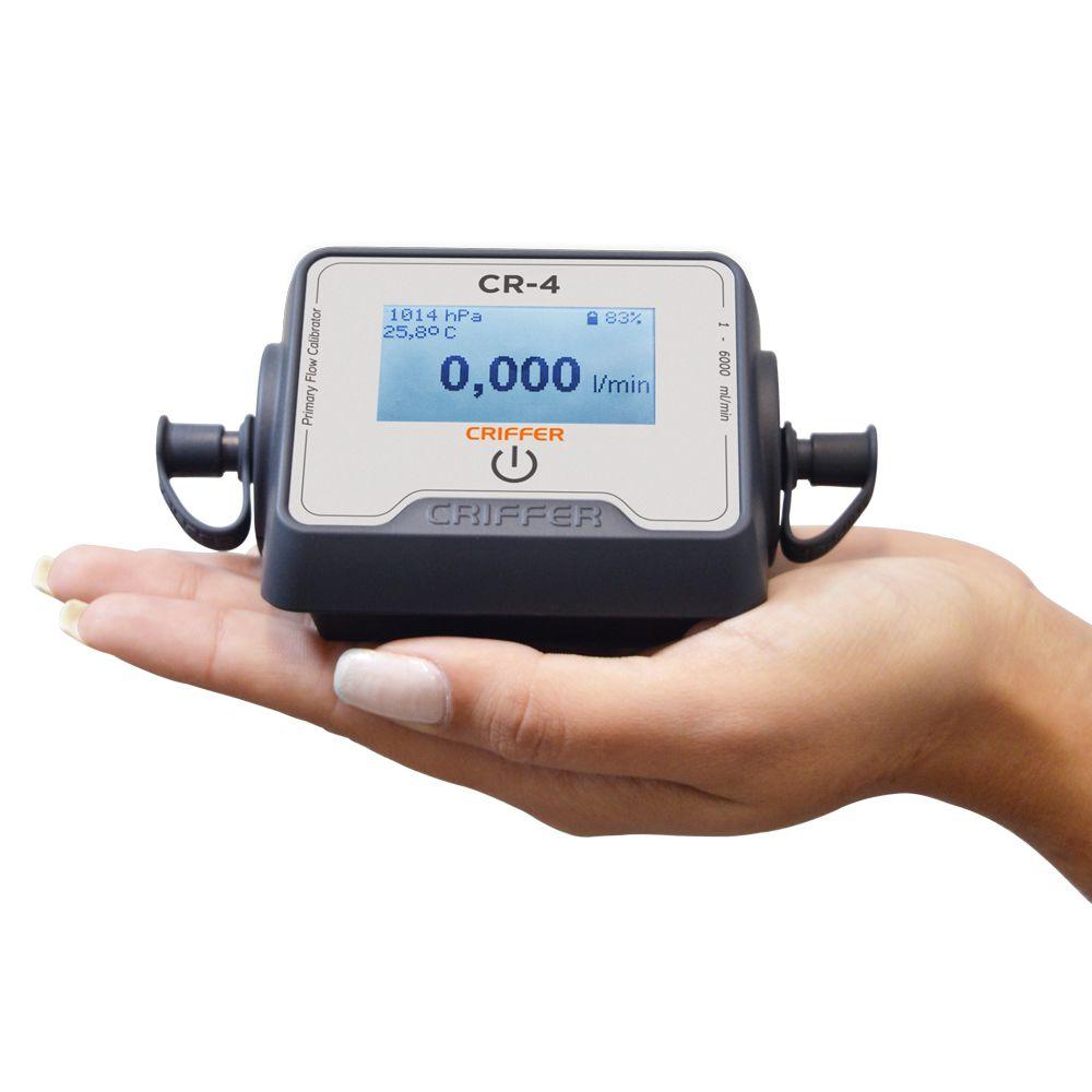 CR-4 Calibrador digital para bombas de amostragem