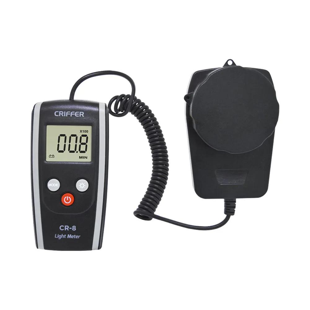 CR-8 Luxímetro digital + Certificado de Calibração com Rastreabilidade RBC