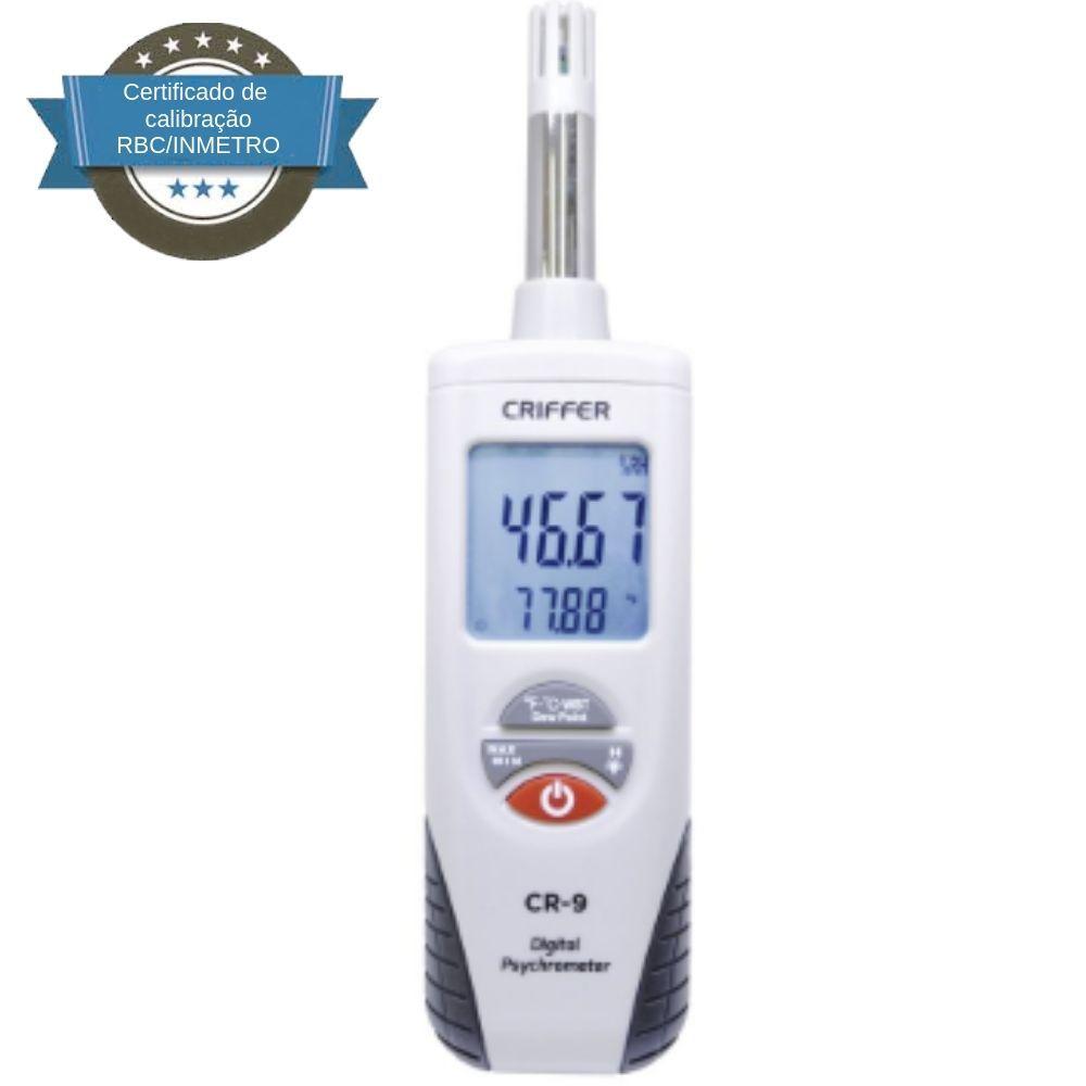 CR-9 Psicrômetro digital