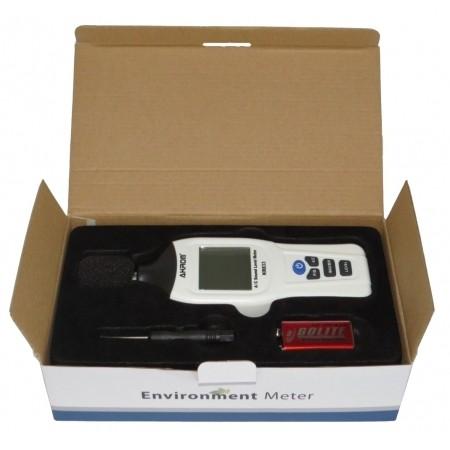 KR833 Decibelímetro digital com ponderação em frequência AC