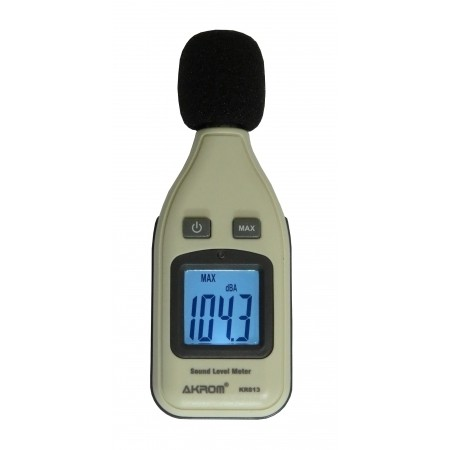 KR813 Decibelímetro digital