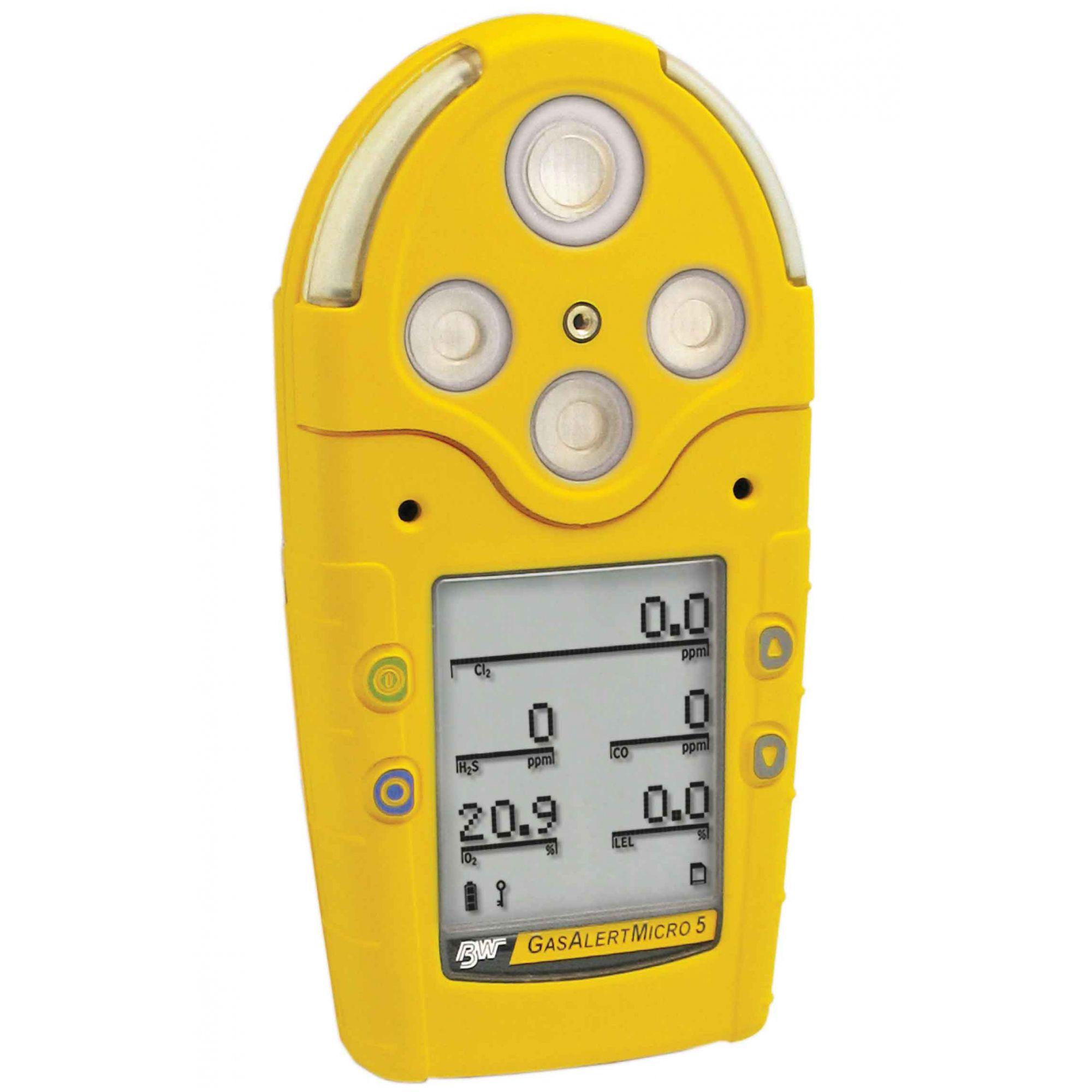 Detector de 5 gases Gasalertmicro 5 (PID/IR)