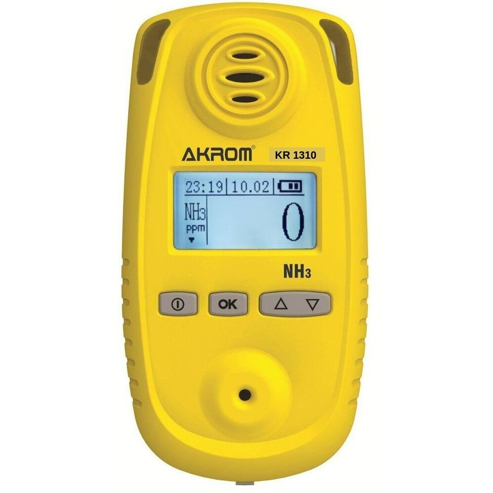 Detector de gás amônia Portátil ( NH3 ) - KR1310