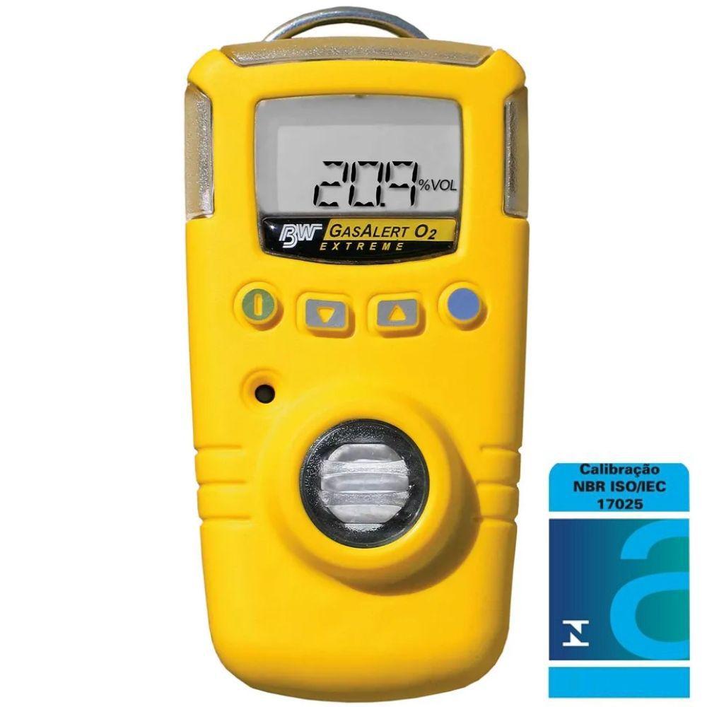GasAlert Extreme Detector monogás amônia (NH3) portátil - Calibração Acreditada/INMETRO