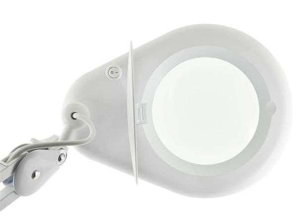 Lupa Hikari de Bancada com Luminária LED HL-400 8D