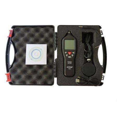 KR852 Luxímetro digital com datalogger e interface USB