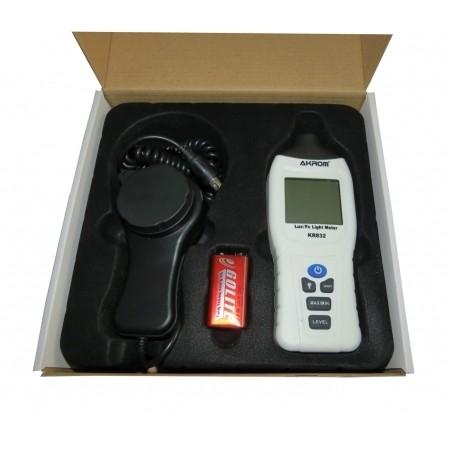 Luximetro Digital com Sensor Externo  - KR832