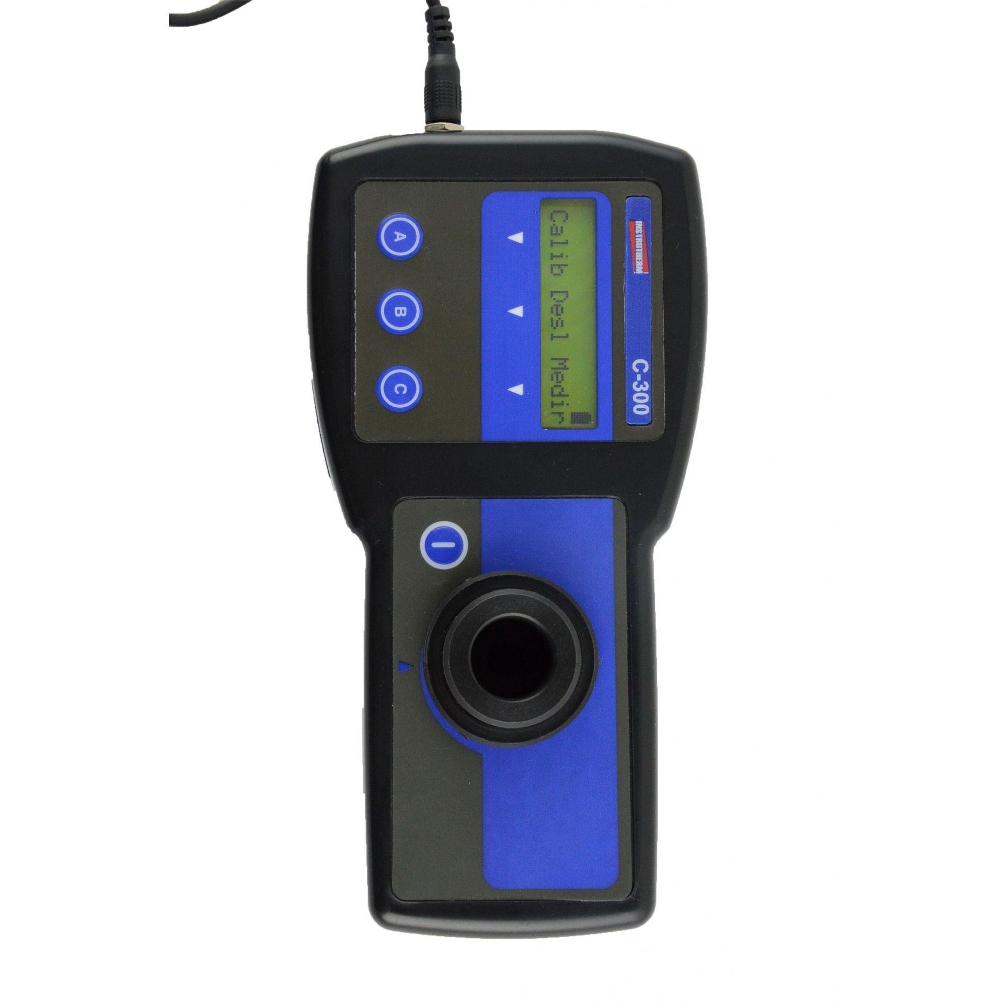 Medidor de cloro Digital portátil onda 520 NM livre e total MOD. C-300