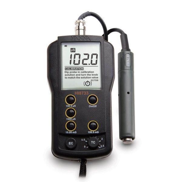 Medidor de EC – Faixas Múltiplas - HI8733