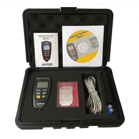 KR1250 Medidor de espessura de camadas em bases Fe/NFe com interface USB