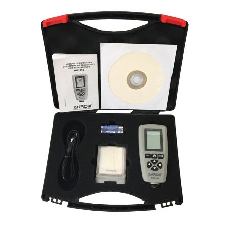 KR1290 Medidor de espessura de camadas em bases FeNFe com interface USB