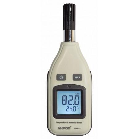 KR811 Medidor de temperatura e umidade