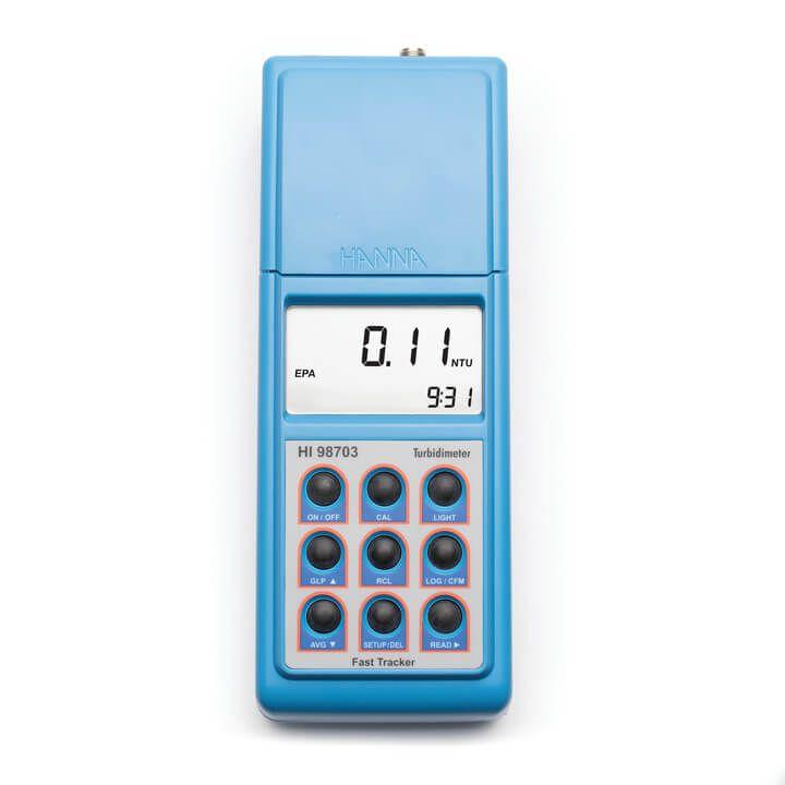 Medidor de turbidez concordante com a EPA com tecnologia Fast Tracker (115V) - HI98703-01