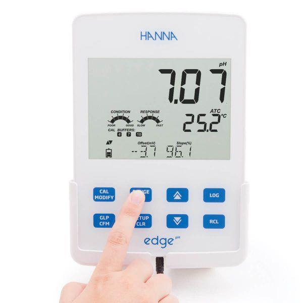 Medidor edge® dedicado para pH/ORP - HI2002-02